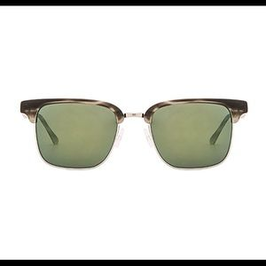 Oliver Peoples Ajax Smoke Tortoise Brushed Silver